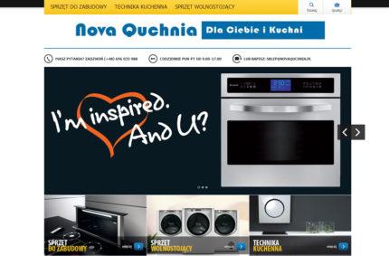 Sklep internetowy – ekskluzywne AGD i urządzenia do kuchni